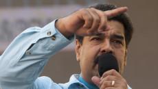 PROTESTA CONTRA SANCIONES DE EE.UU. A VENEZUELA