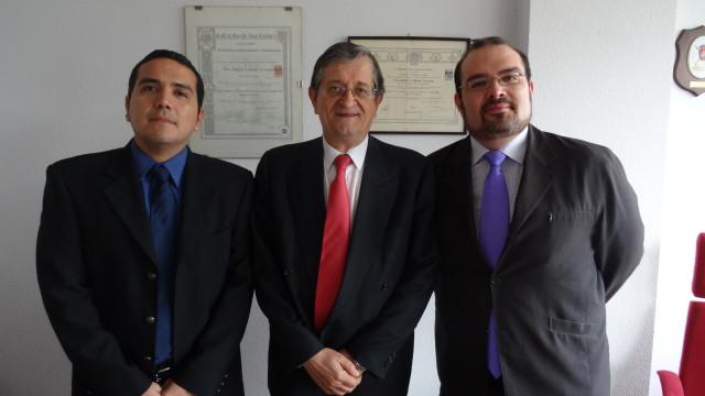 Reunión de trabajo Manuel Lazcano-Rafael Calduch