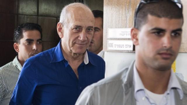 El ex primer ministro israelí Ehud Olmert, en una imagen de mayo de 2014. REUTERS