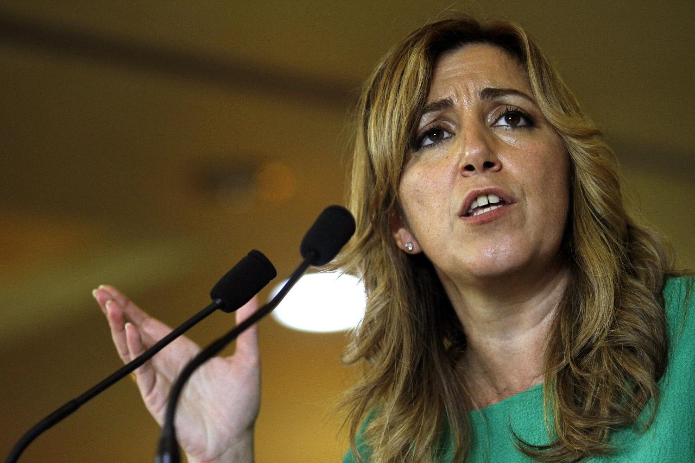 Presentacion de la candidatura de Susana Díaz a las primarias  del PSOE andaluz