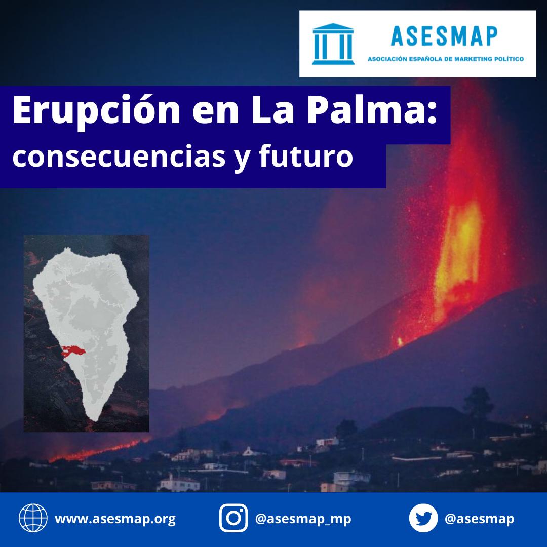 Erupción en La Palma - ASESMAP